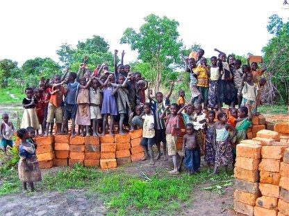 Poor Zambian Children in Need of Education