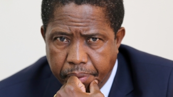 President-Edgar-Lungu THINKING