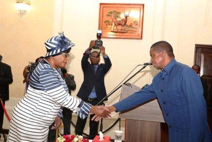 Lungu appoints Kaseba Sata